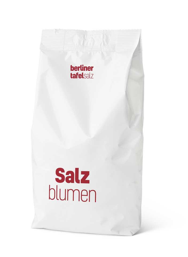 Berliner Tafe Salz Meersalz Salzblumen Sack