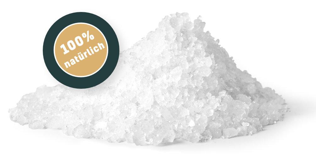 Salzhaufen 100% natürlich
